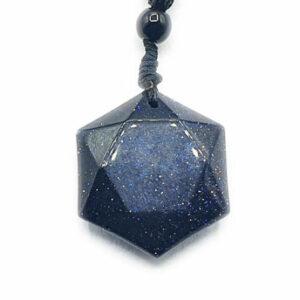 Obsidienne Hexagonale Irisée (M) - Simplement élégante