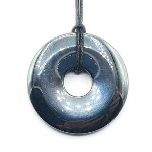 Obsidienne Donut Géant (XL) - Bouclier de protection