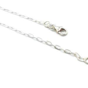 Longue chaîne en argent 925 - 60 cm